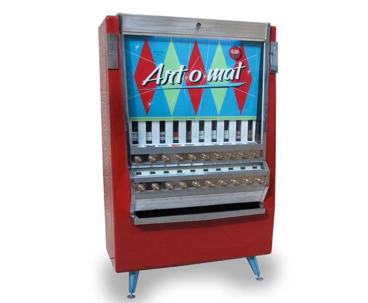 a vending machine is designed to dispense