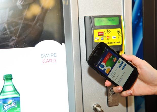 nfc vending payment